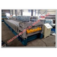 Quality Aluminum Steptile Roof Panel Fabricating Machines with Automatic Metal Rollforming Equipment wholesale