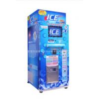 Quality Restaurant Commercial Ice Vending Machine Charged By Coin / Note CE Approval wholesale