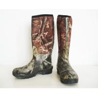 Quality Camo Neoprene Rubber Boots,Hunting Boots,Neoprene Safety Boots,Gum Boots,Working Boots,Mens Boots wholesale