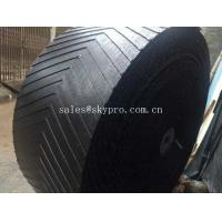 China Heat Resistant Rubber Conveyor Belt With 10-24Mpa Tensile Strength , 5-30mm Thickness on sale