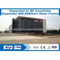 Quality PVC / Aluminum Windows / Door Prefabricated Steel Structures Shot Blasting wholesale