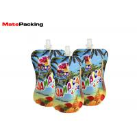 Quality Baby Food Spout Pouch Drink Packaging Bottom Gusset Reusable Eco Friendly wholesale