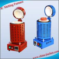 China JC-K-110-2 China High-quality Induction Scrap Metal Gold Melting Equipment on sale