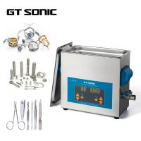 Quality 150W 40KHz 6L Digital Ultrasonic Cleaner 1-99 Mins Timer With Stainless Steel Tank wholesale