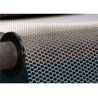 China Light Duty Aluminum Expanded Metal Mesh Decorative For Exterior Wall Cladding on sale