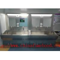 Quality Fire Proof Stainless Steel Work Bench Table  / Science Lab Furniture wholesale