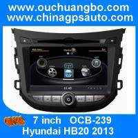 China Ouchuangbo S100 Platform Car GPS Radio DVD Player for Hyundai HB20 2013  Bluetooth MP3 USB on sale