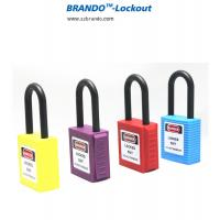 China Industrial Safety Lockout Tagout Padlock with Keyed Alike, Nylon Shackle Padlocks on sale