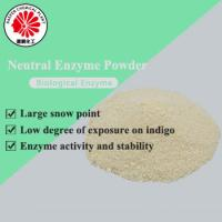 China Manufacture neutral wide temperature range wear resistant enzyme powder for denim stone washing on sale