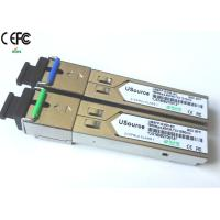 Cheap 155Mbps 40km 1310nm/1550nm SFP Optical Transceiver single fiber SC SFP WDM for sale