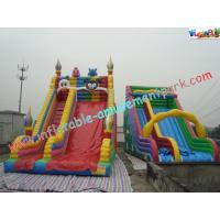 Quality Customized Clown  Rent Inflatable Slide , Inflatable Dry Slides wholesale