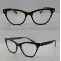 Quality Square Black Vintage Acetate Optical Frames / Spectacle Frame With Lightweight wholesale