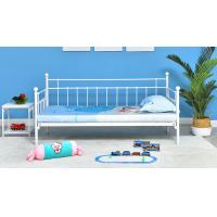 Buy cheap Customized Color Szie Princess Iron Bed  , Single Beds For Adults 60X40X80 CM from wholesalers