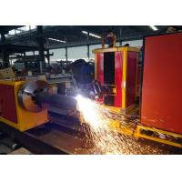 Quality Customized Cutting Length CNC Pipe plasma Cutting Machine  Loading Capacity 2000kgs wholesale