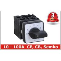 Quality 10 Position Rotary Switch , Manual Changeover Switch 63A 80A 100A wholesale