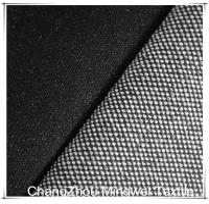 Quality black knit denim for jeans/pants/garment wholesale