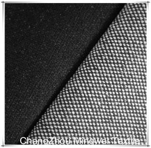 China black knit denim for jeans/pants/garment on sale