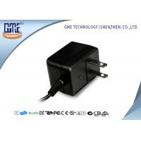 Quality Black CE/GS EU Plug 3-10w Ac Dc Switching Power Supply With 1.5m DC Cable wholesale
