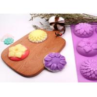 Quality Silicone Molds Flower Soap Mold Candy Molds Chocolate Molds Biscuit Cake Mold Ice Cube Tray wholesale
