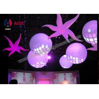 Quality Battery Led Light Balls Inflatable Lighting Decoration Hanging Ball For Stage wholesale