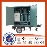 Quality Mobile Type Transformer Oil Purifier wholesale