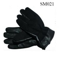 Quality Men knitted sheep leather gloves high quality at cheap price SM021 wholesale