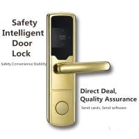 Quality Anti - Corrosion SS RFID Hotel Lock Silver / Golden / Red Bronze Color Optional wholesale