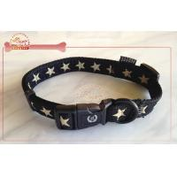 Quality Personalized Decal Pattern Nylon Dog Collar With Name Plate wholesale