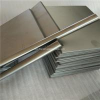 Quality 6mm thickness Ti GR5 Grade5 Titanium alloy metal plate sheet wholesale price wholesale