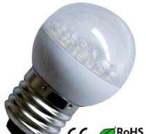 China SG40 1.2W  LED BULB ,GLOBE on sale