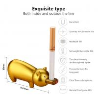 China Windproof Portable Usb Rechargeable Cigarette Lighter , Electric Flameless Lighter on sale