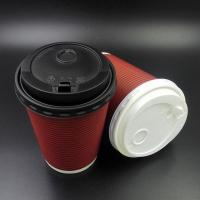 China Good Strength Reusable Cup Lids , 90mm Pp Hot Cup Large Plastic Dome Lids on sale