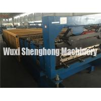 Quality Steel Roof Glazed Tile Roll Forming Machine Hydraulic With Manual Decoiler wholesale