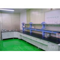 Quality Steel And Wood Structure Modular Laboratory Furniture , Modular Lab Equipment wholesale