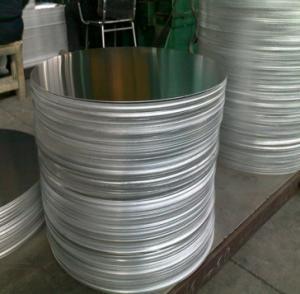 Cheap Utensil Aluminium Round Discs / Circular Aluminum Plate Smooth Finish Surface for sale