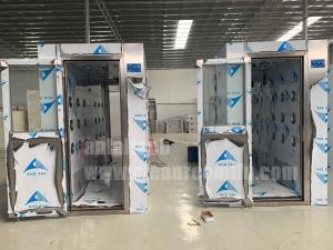 China Air Shower Room with Stainless Steel Interlocking Doors on sale