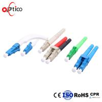 Cheap Low Insertion Loss LC Fiber Connector 0.5um Concentricity Networks Instrumentation for sale