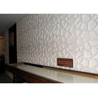 Quality Colored Decorative Embossed panels for TV SPA Bed Wallpaper 3d Sandwich Board wholesale