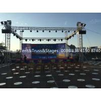China Bolt Aluminum Stage Truss For Outdoor Event , Custom Design Aluminum Triangle Truss on sale