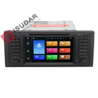 Quality Octa Core Android 6.0 BMW DVD GPS Navigation BMW 5 Series Head Unit 2G RAM 32G ROM wholesale
