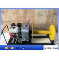 Quality 3 Ton Gasoline Engine Cable Pulling Winch For Pulling And Hoisting Wire Rope wholesale