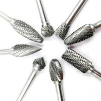 Customized Tungsten Carbide Burr Bits Metal Removal Carbide Burrs