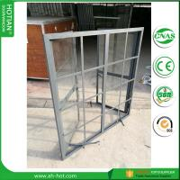 Quality CE approved burglar proof steel fixed windows with grids from China supplier wholesale