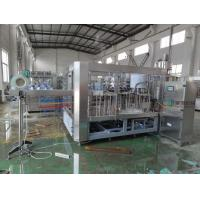 China 3 in 1 Carbonated Drink Filling Machine , Aseptic Soda Water Bottling Plant on sale