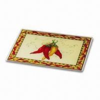 China Tempered Glass Cutting Board, Available in Various Designs, OEM Orders are Welcome on sale