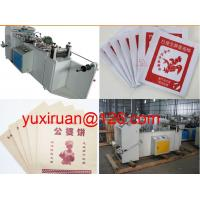 Quality KFC FOOD Paper / Plastic Bag Making Machine Computer Bottom Sealing Machine wholesale