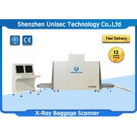 Quality Dual Energy X Ray Luggage Scanner Security Check With Conveyor Max Load 250KG wholesale