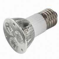 Quality Dimmable 4W Cree MR16 LED Bulb with E27/E26 Base and Aluminum Housing, CE/RoHS Directive-compliant wholesale