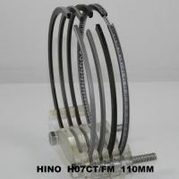 Quality 110mm Ranger SD Truck Engine Piston Ring Set Hino H07CT 13019-1340A ( cyl ) Parts wholesale
