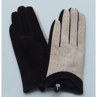 Quality Lady′s Pig Suede Gloves wholesale